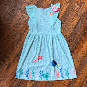 Disney Jumping Beans Dress Nemo and Marlin Size 10